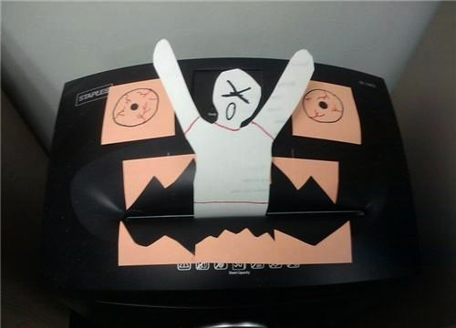 paper monster shredder